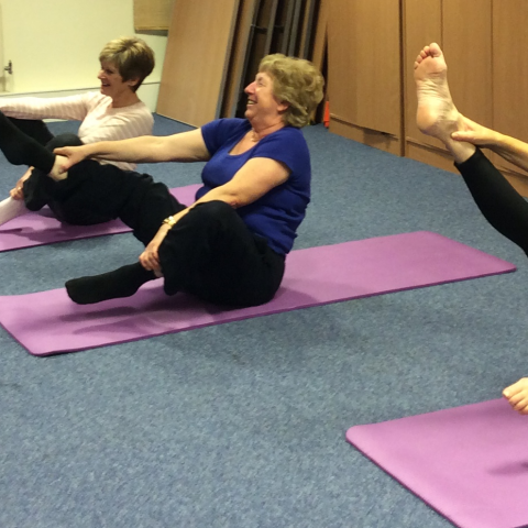 YBPSS pilates class