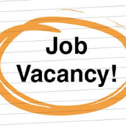 job vacancy sign