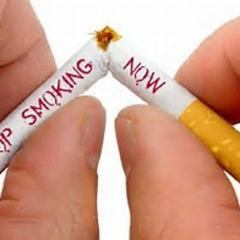 stop smoking - broken cigarette