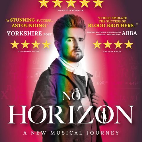Publicity flyer for 'No Horizon' the musical